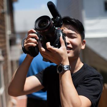 Videographer Sam