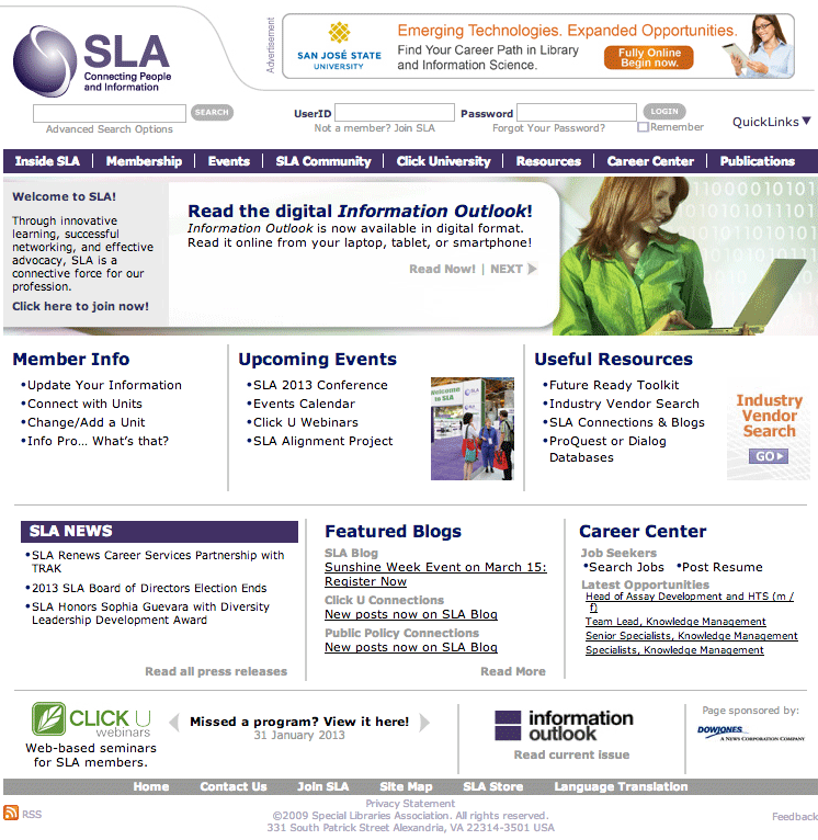sla-website