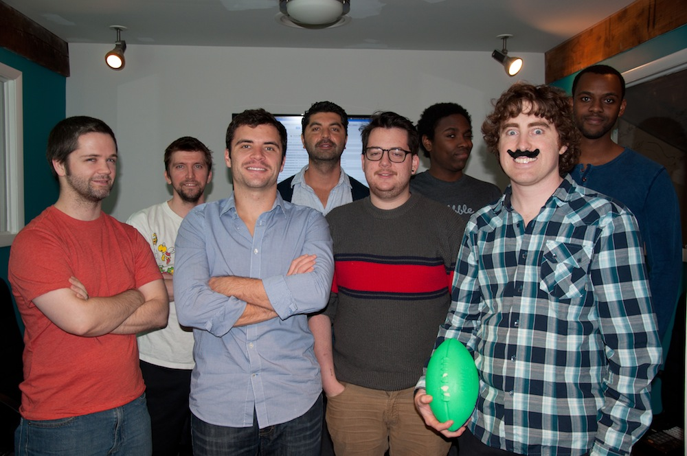 The Web Development Group grows their mustaches in support of Movember and its mission to help research and programs for prostate & testicular cancer.