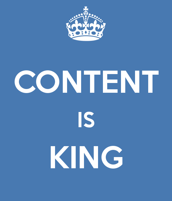 A Great Web Design Company will know that content is king