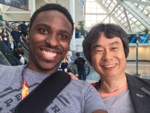 Randall and Shigeru Miyamoto