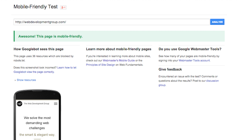 What Google's Mobile-Friendly Ranking Means For You