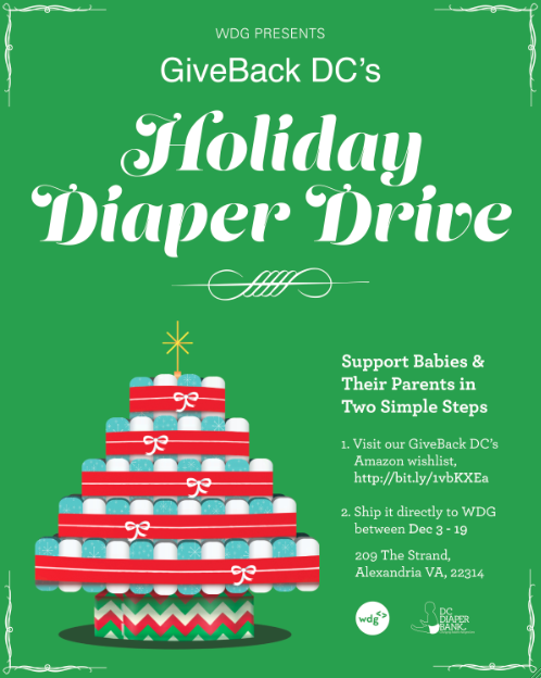 Holiday Diaper Drive