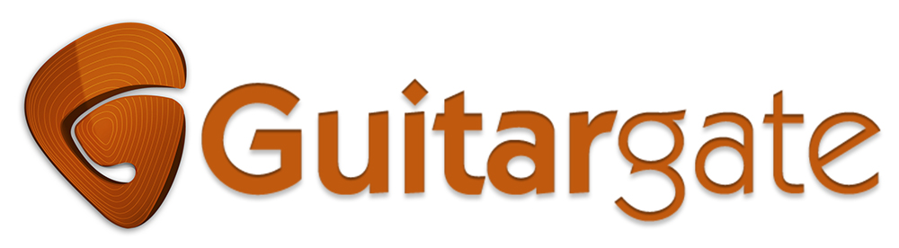 Guitargate logo and branding