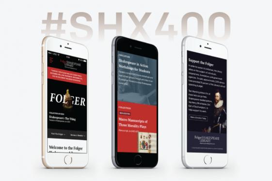 #SHX400 Folger mobile design mockups