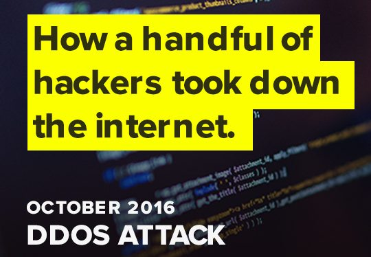 How a handful of hackers took down the internet