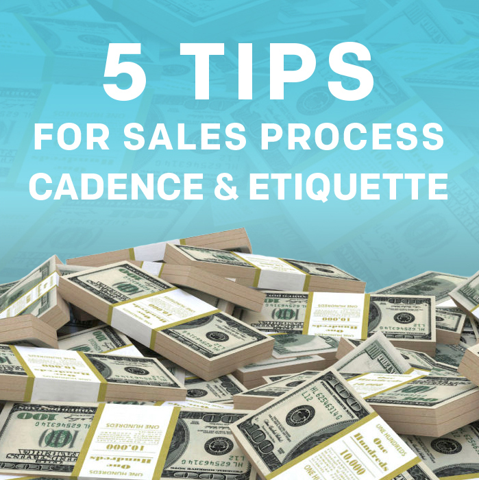 5 Crucial Tips to Adopt for Every Sales Process