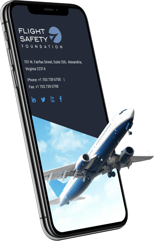 Flight Safety Foundation on mobile devices