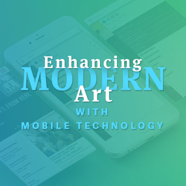 Enhancing modern art with mobile technology