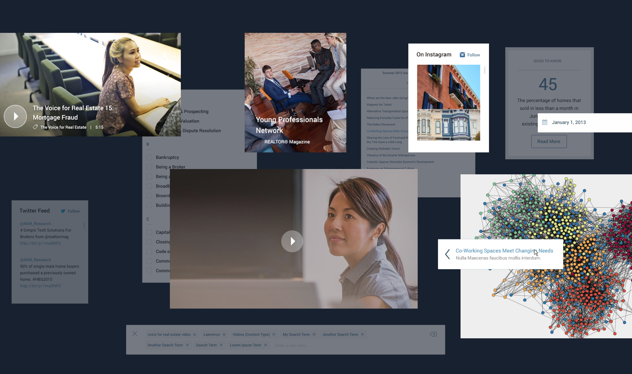National Association of Realtors design details