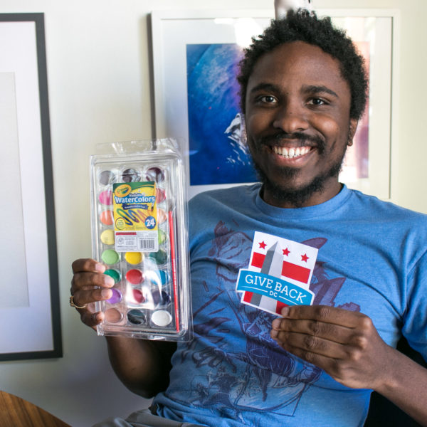Randall Parrish loves GiveBack DC