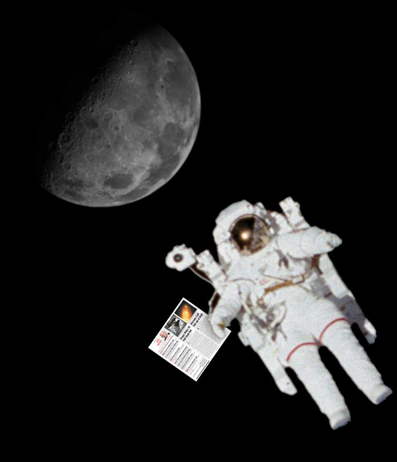 SpaceNews news media publication built on WordPress