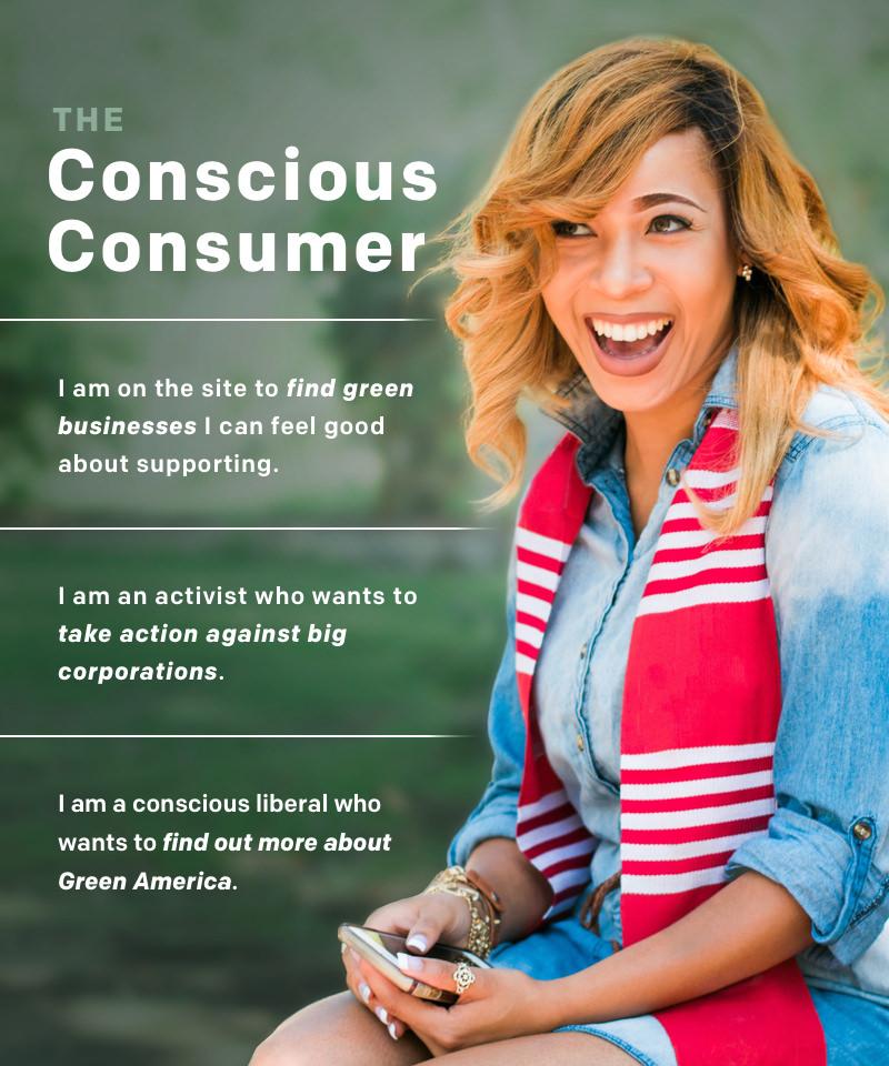 Green America consumer persona profile