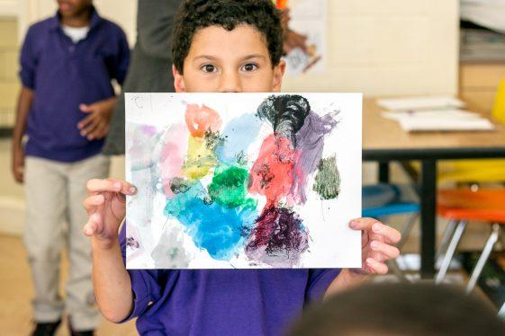 art student kid