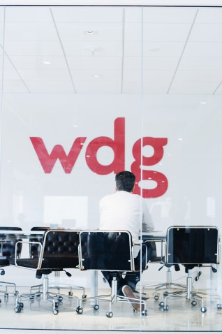 The WDG conference room