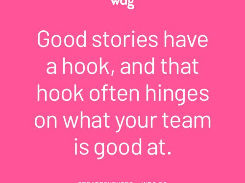 Good Content is a Good Story