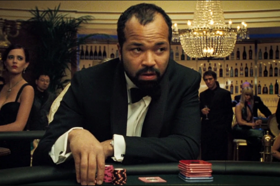 Poker scene from James Bond: Casino Royale.