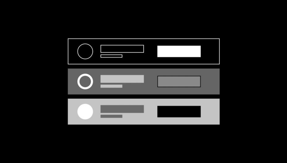 Design components.